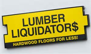 CANCER RISK FROM LUMBER LIQUIDATORS FLOORING HIGHERTHAN PREVIOUSLY DETAILED